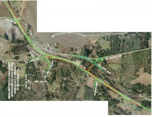 Photo of S'Klallam Intersection Proposal